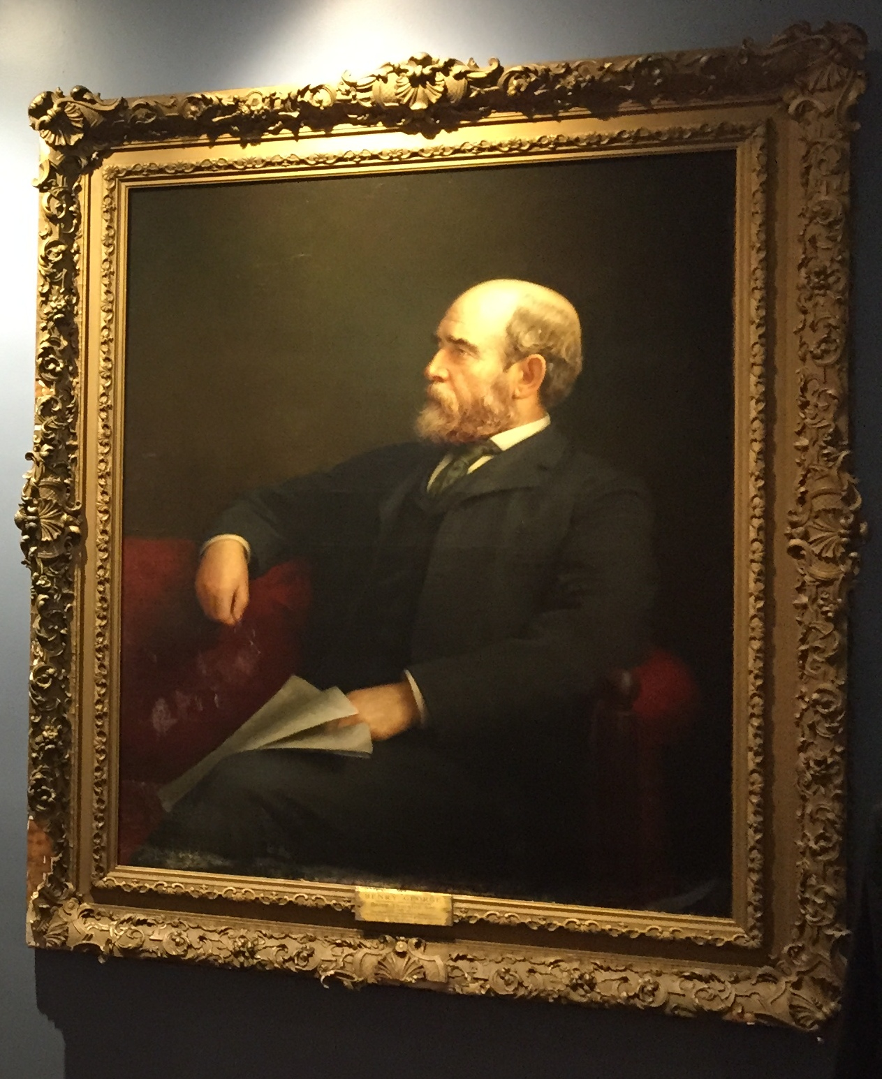 The Henry George School Portrait, Textile, and Artifact Collection