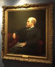 Henry George Oil Portrait by Thurston See