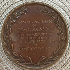 Tom L. Johnson Medallion_Reverse