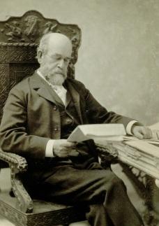Daguerreotype of Henry George, 1897