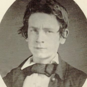 Daguerreotype of Henry George circa 1852