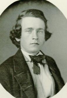Daguerreotype of Henry George circa 1857