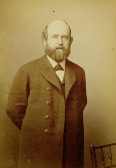 Daguerreotype of Henry George circa 1884