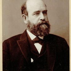 Daguerreotype of Henry George, signed, date unknown