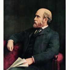 Henry George [from the oil portrait by Harry Thurston See], 1897