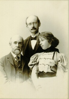 Henry George with Anna and Henry George, Jr. [circa 1897]