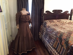 Dress worn by Henry George's wife, Annie Corsina Fox George