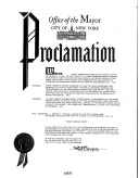 City of New York Henry George Week Proclamation, August 31-September 6, 1964_1