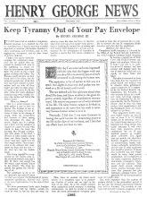 Henry George News