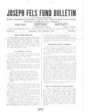 Jospeh Fels Bulletin_1