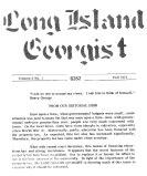 Long Island Georgist
