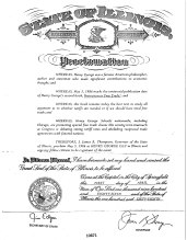 State of Illinois Henry George Day Proclamation, May 5, 1986_1