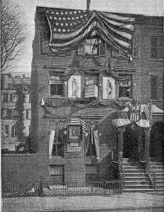 The Manhattan Single Tax Club Headquarters, 1892