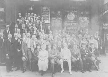 Photograph of the National Single Tax League Convention