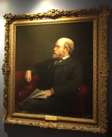 Portrait of Henry George